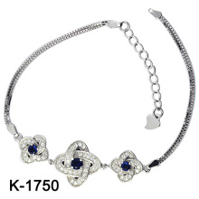 925 Серебряных кубических циркониевых браслетов (K-1750. JPG)