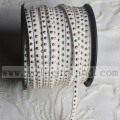 Faux Suede Leather Cords With 3MM Silver Studs DIY Crafts