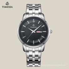 Classic Business Men Owned All Reloj de acero inoxidable 72059