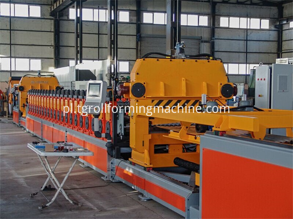 Metal Silo Making Machine