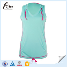 Latest Design Adult Girls Top Singlet Sportswear