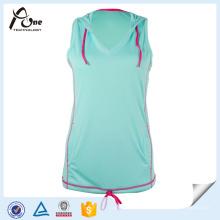 Latest Design Adult Girls Top Singlet Sportswear