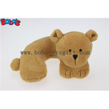 Descanso Pescoço 3D Pillow Baby Kids Car Seat Plush Soft Toy Travel Bear