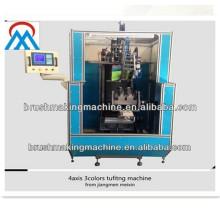 2014 vente chaude 4 axes haute vitesse balai tufting machine