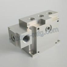 Bloc d'usinage en aluminium haute précision pour instruments et compteurs Accessoires