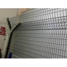 Poteau de clôture d'acier rectangle