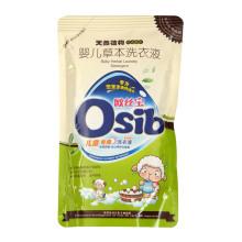 Líquido detergente para a roupa (uso do bebê)