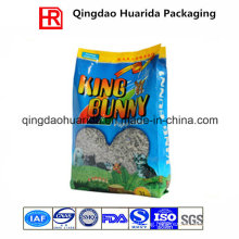 Side Gusset Animal Feed Packaging Bag/Cat Litter Bag
