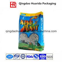 Side Gusset Animal Feed Packaging Bag/Cat Litter Bag