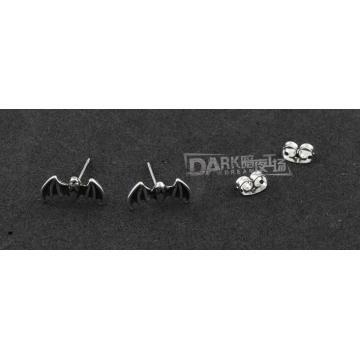 Boucles d'oreilles en argent en gothique