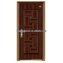 Дизайн, прочный безопасности стальная дверь KKD-544 с CE, BV, TUV, SONCAP