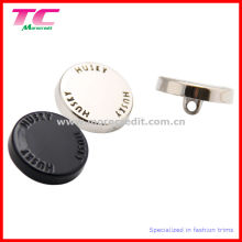 Engraving Enamel Metal Shank Button with Custom Color Finished