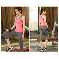 OEM Service Seamless Ribbed Racerback Sport Tank Top for Women
