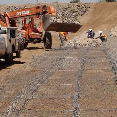 Galfan Wire Gabion Hot Dip Galvanized