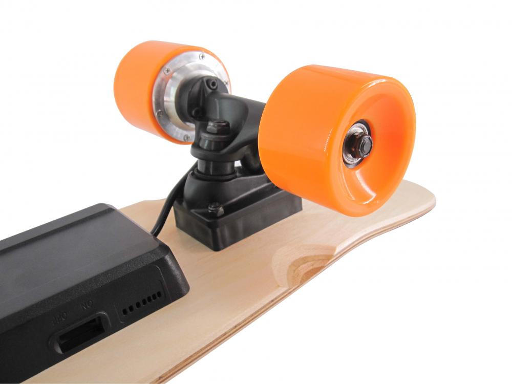 Skateboard elettrico Mini Wheel Orange Wheel