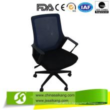 Chaise de bureau en filet à haut dossier, chaise d'ordinateur avec accoudoir