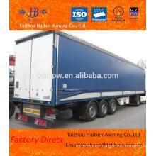 Impermeável PVC laminado e revestido Tarpaulin usado para a cobertura do caminhão