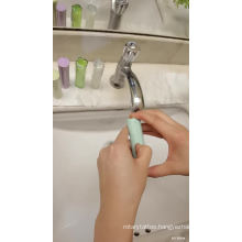 Portable Hand Soap Paper Packed In Plastic Cylinder