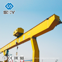 Single Beam Cantilever Arms Hoist Gantry Crane