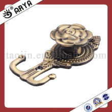 Korea style Metal Curtain Tassel Tieback Holder and Hook Design