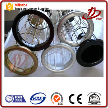 Power plant Stainless steel dust filter bag cages for baghouse