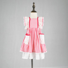 Dollcake remake girls pink stripe spring dress
