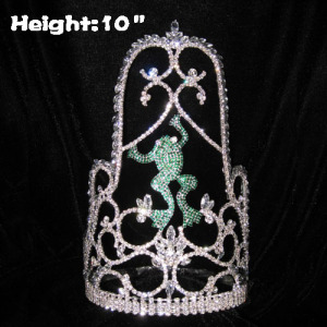 Crystal Frog Pageant Crowns Custom Crown design