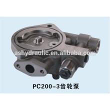 Komatsu PC200-3 gear hydraulic charge pump