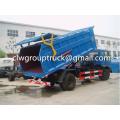 Dongfeng153 8-14CBM Sealed Dump Garbage Truck