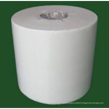 Toiles élastiques à faible teneur en peluche 68g 60g Cellulose / Polyester Nonwoven Blend
