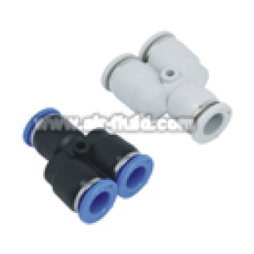 APY Union Y Plastic Push in Tubing Fittings