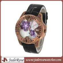 2014 Vogue Vintage Ladies Leather Wrist Watch