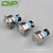 22mm Self Lock Metal Push Button Switch