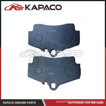 Top quality brake pad for Porsche D738 98635293900
