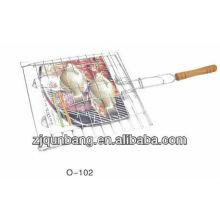 BBQ et gril barbecue en métal carré