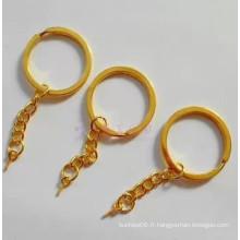 Porte-clés avec chaîne