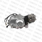 110cc Semi automático motor