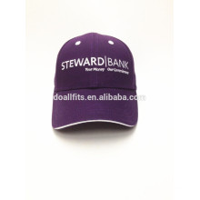 Casquillo barato del deporte de la promoción con el logotipo del emboridery hecho en China