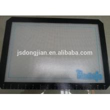 custom logo printing non-stick oven baking pan liner silicone baking mat