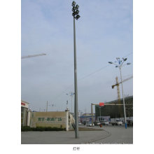 Straight Galvanized Street Light Steel Pole