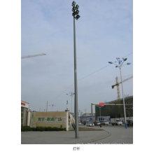 Уличный оцинкованный стальной столб