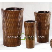 Venda quente elegante rattan vase cadeira Vase-021