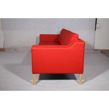 Borge Mogensen 2213 3 Seater Leather Sofa Replica
