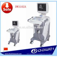 Equipo médico de diagnóstico precio del ultrasonido y de la máquina de ultrasonido DW3102A