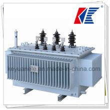 10kv-220kv Transformador Trifásico de Energía Sumergido en el Aceite