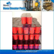 Componente de seguridad para ascensores Buffer de goma, Buffer de PU