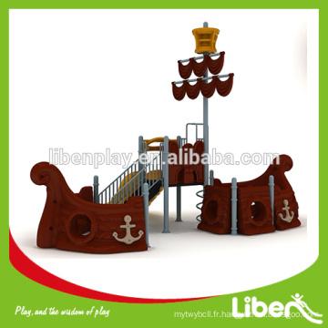 Cheap Pirate Ship Kids Outdoor Play Sets à vendre