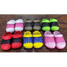 Красивый дизайн Softable Мужской сад обувь с низким ценам, летние Сабо для детей