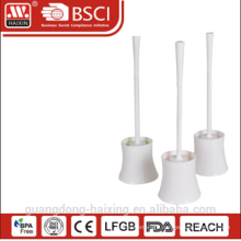 all white color toilet brush