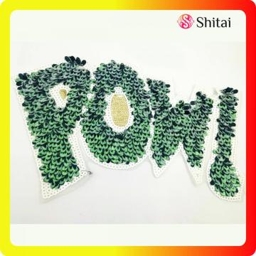Hight quality POWL sequins patch